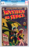 Golden Age (1938-1955):Science Fiction, Mystery in Space #2 (DC, 1951) CGC FN 6.0 Cream to off-whitepages....