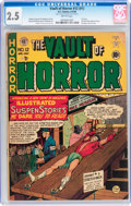 Golden Age (1938-1955):Horror, Vault of Horror #12 (EC, 1950) CGC GD+ 2.5 Brittle pages....