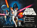 "Movie Posters:Science Fiction, Star Wars (20th Century Fox, 1978). British Quad (30"" X 40"")Academy Award Style.. ..."