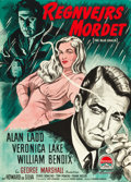 "Movie Posters:Film Noir, The Blue Dahlia (Paramount, 1948). Danish One Sheet (24"" X 33.5"")....."