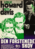 """Movie Posters:Crime, The Petrified Forest (Warner Brothers, R-1945). Danish One Sheet (24.5"""" X 33.5"""").. ..."""