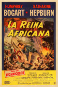 "Movie Posters:Adventure, The African Queen (United Artists, 1952). Argentinean One Sheet(29"" X 43"").. ..."