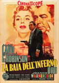 "Movie Posters:Crime, Hell on Frisco Bay (Warner Brothers, 1955). Italian 2 - Foglio (39""X 55"").. ..."