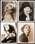 """Movie Posters:Miscellaneous, Greta Garbo Lot (MGM, 1920s). Portrait Photos (4) (8"""" X 10"""").. ... (Total: 4 Items)"""