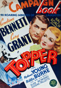 "Movie Posters:Comedy, Topper (MGM, 1937). Uncut Pressbook (28 Pages, 14"" X 19.75"").. ..."