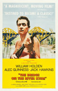 "Movie Posters:War, The Bridge on the River Kwai (Columbia, 1958). One Sheet (27"" X41"") Style B.. ..."