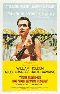 "The Bridge on the River Kwai (Columbia, 1958). One Sheet (27"" X 41"") Style B"