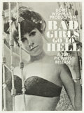 "Movie Posters:Sexploitation, Bad Girls Go to Hell (Juri Productions, 1965). Poster (30"" X 40.5"").. ..."