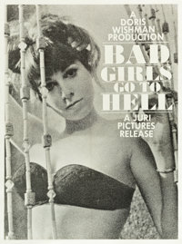 "Bad Girls Go to Hell (Juri Productions, 1965). Poster (30"" X 40.5"")"