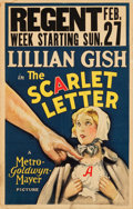 "Movie Posters:Drama, The Scarlet Letter (MGM, 1926). Window Card (14"" X 22"").. ..."
