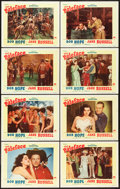 """Movie Posters:Comedy, The Paleface (Paramount, 1948). Lobby Card Set of 8 (11"""" X 14"""")..... (Total: 8 Items)"""