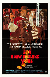 """For a Few Dollars More (United Artists, 1967). One Sheet (27"""" X 41"""")"""