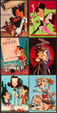 "Jacques Kapralik Advertising (MGM, 1940s). Ad Pieces (93) (9"" X 12""). ... (Total: 93 Items)"