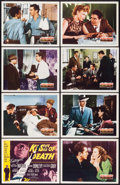 """Movie Posters:Film Noir, Kiss of Death (20th Century Fox, 1947). Lobby Card Set of 8 (11"""" X 14"""").. ... (Total: 8 Items)"""