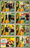 "Movie Posters:Comedy, The Bachelor and the Bobby Soxer (RKO, 1947). Lobby Card Set of 8(11"" X 14""). Comedy.. ... (Total: 8 Items)"