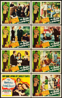 "The Bachelor and the Bobby Soxer (RKO, 1947). Lobby Card Set of 8 (11"" X 14""). Comedy. ... (Total: 8 Items)"