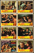 "Movie Posters:Comedy, The Devil and Miss Jones (RKO, 1941). Lobby Card Set of 8 (11"" X14"").. ... (Total: 8 Items)"