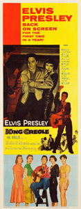"""Movie Posters:Elvis Presley, King Creole (Paramount, R-1959). Insert (14"""" X 36"""").. ..."""