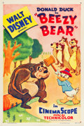 "Movie Posters:Animation, Beezy Bear (RKO, 1955). One Sheet (27"" X 41"").. ..."