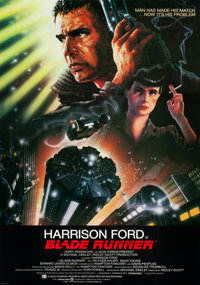 "Blade Runner (Warner Brothers, 1982). Signed International One Sheet (27"" X 41"")"