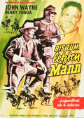 """Movie Posters:Western, Fort Apache (Constantin, R-1960s). German A1 (23.5"""" X 33"""").. ..."""