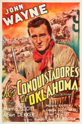 "Movie Posters:Western, In Old Oklahoma (Republic, Late-1940s). Argentinean Poster (29"" X 43.5"").. ..."