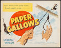 "Movie Posters:Mystery, Paper Gallows (Eagle-Lion Classics, 1950). Half Sheet (22"" X 28"").Mystery.. ..."