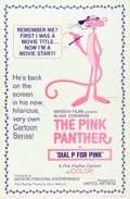 "Movie Posters:Animation, Dial 'P' for Pink (United Artists, 1965). One Sheet (27"" X 41"")....."