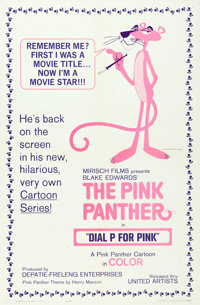 "Dial 'P' for Pink (United Artists, 1965). One Sheet (27"" X 41"")"