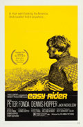 "Movie Posters:Drama, Easy Rider (Columbia, 1969). One Sheet (27"" X 41"") Style A.. ..."