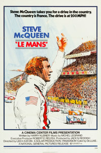 """Le Mans (National General, 1971). One Sheet (27"""" X 41"""")"""
