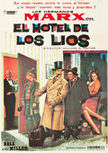 """Movie Posters:Comedy, Room Service (Cosmos International, R-1962). Spanish One Sheet(27.5"""" X 39"""").. ..."""