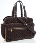 Luxury Accessories:Bags, Louis Vuitton Brown Canvas Mini Lin Monogram Diaper Bag. ...