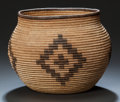 American Indian Art:Baskets, A CHEMEHUEVI COILED JAR. c. 1900 ...
