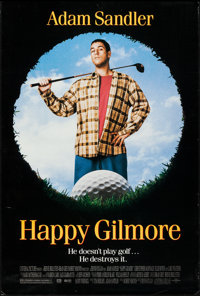 """Happy Gilmore (Universal, 1996). One Sheet (27"""" X 40"""") DS. Comedy"""