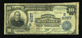 National Bank Notes:Virginia, Roanoke, VA - $10 1902 Date Back Fr. 618 The National Exchange BankCh. # (S)4027. ...