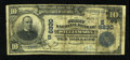 National Bank Notes:West Virginia, Williamson, WV - $10 1902 Date Back Fr. 616 The First NB Ch. #(S)6830. ...