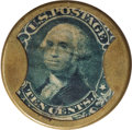 Encased Postage: , HB-56 EP-102a Scott-29 Reed-BA10FG 10¢ Joseph L. Bates FancygoodsExtremely Fine.. Numerical grade: 80case.60stamp.75mica. = 2...
