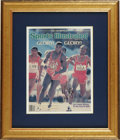 Olympic Collectibles:Autographs, Carl Lewis Signed Sports Illustrated. The fastest man alive signedthe cover of the Sports Illustrated featuring him on his...