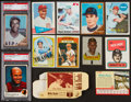 Baseball Cards:Lots, 1960's-70's Baseball Stars and Hall of Famers Collection (12). ...