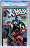Modern Age (1980-Present):Superhero, X-Men #268 (Marvel, 1990) CGC NM/MT 9.8 White pages....