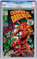 Bronze Age (1970-1979):Horror, Chamber of Darkness #7 (Marvel, 1970) CGC NM+ 9.6 Off-white towhite pages....