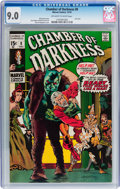 Bronze Age (1970-1979):Horror, Chamber of Darkness #8 (Marvel, 1970) CGC VF/NM 9.0 Off-white towhite pages....