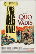 "Movie Posters:Historical Drama, Quo Vadis (MGM, R-1964). One Sheet (27"" X 41""). Historical Drama....."
