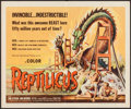 "Movie Posters:Science Fiction, Reptilicus (American International, 1962). Half Sheet (22"" X 28"").Science Fiction.. ..."