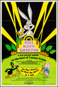 "Movie Posters:Animation, Bugs Bunny Superstar (Warner Brothers, 1976). One Sheet (25"" X 36""). Animation.. ..."