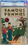 Platinum Age (1897-1937):Miscellaneous, Famous Funnies #9 (Eastern Color, 1935) CGC GD- 1.8 Off-whitepages....
