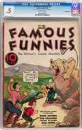 Platinum Age (1897-1937):Miscellaneous, Famous Funnies #8 Incomplete (Eastern Color, 1935) CGC PR 0.5Brittle pages....