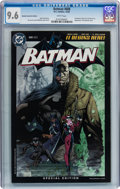 Modern Age (1980-Present):Superhero, Batman #608 Retailer Incentive Edition (DC, 2002) CGC NM+ 9.6 Whitepages....