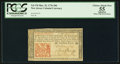 Colonial Notes:New Jersey, New Jersey March 25, 1776 18d PCGS Apparent Choice About New 55.....